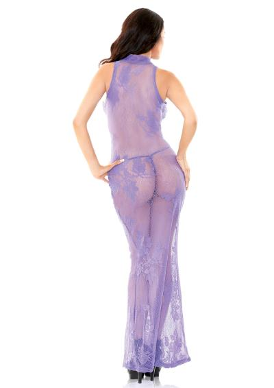 LACE GOWN WITH G-STRING S/M