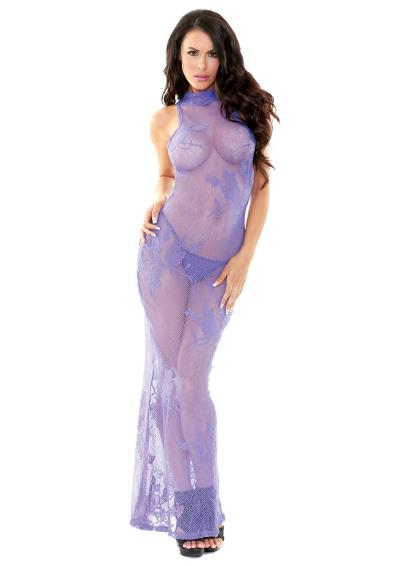 LACE GOWN WITH G-STRING M/L