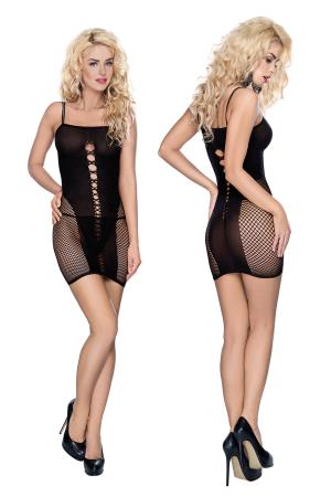 MINI DRESS L/XL BLACK