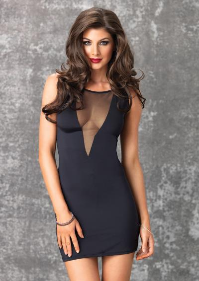 MINI DRESS ISABEL BLACK S