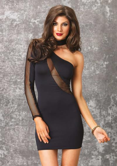 MINI DRESS CAROLYN BLACK L