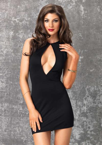 MINI DRESS BROOKE BLACK S